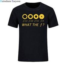 Photographer - What The F - Stop Men T-shirt 100% Cotton Cas