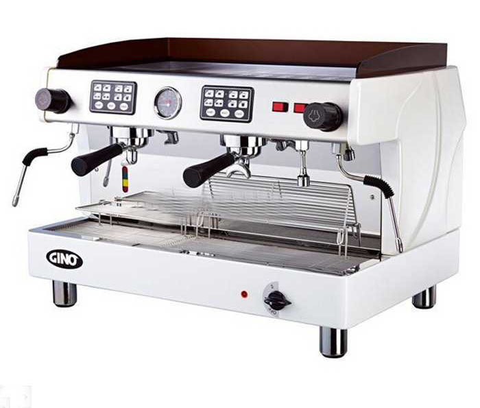 wn 220g commercial smi automatic espresso coffee machine 2 pressure gauges for extraction coffee. Black Bedroom Furniture Sets. Home Design Ideas