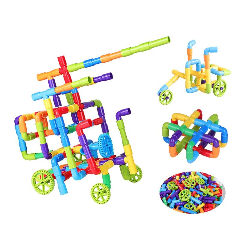 Купить труба блок игрушка туннель из труб колеса автомобиля diy блоки