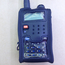 Leather soft case holder for baofeng bf-uv5r,bf-uv5ra,bf-uv5re,bf-uv5rb tonfa tf-uv985 etc walkie talkie