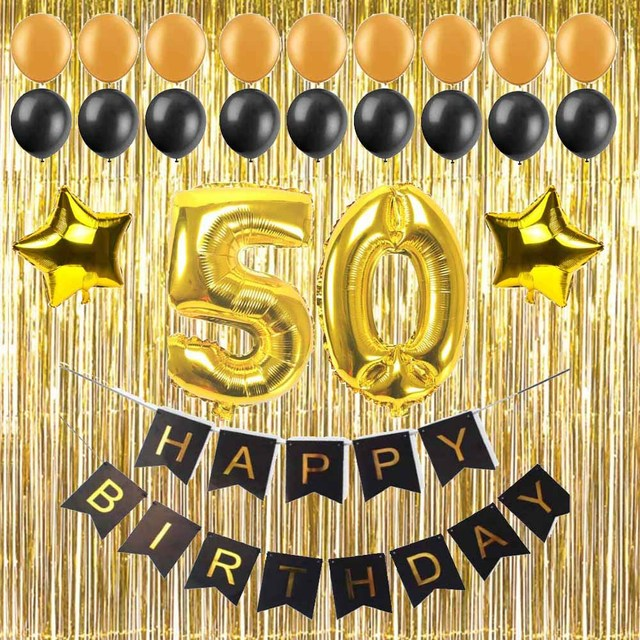 30 40 50 60 years adult Birthday party diy decoration supply Paper