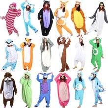 Animal Onesie Cosplay Costume Adult Pajamas Fox Cow Duck Kangaroo Tiger Dog Rabbit Bear Cat Squirrel Penguin Donkey Pyjamas