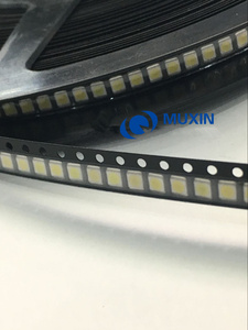Image 2 - 500 יח\חבילה 3528 2835 3V SMD LED חרוזים 1W LG 100LM קר לבן עבור הטלוויזיה LCD תאורה אחורית