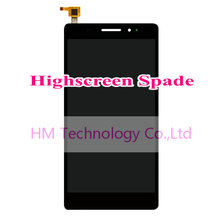 Black LCD+TP for Highscreen Spade 5.5″ LCD Display+Touch Screen Digitizer Panel Assembly Replacement Parts Free Shipping+Tools