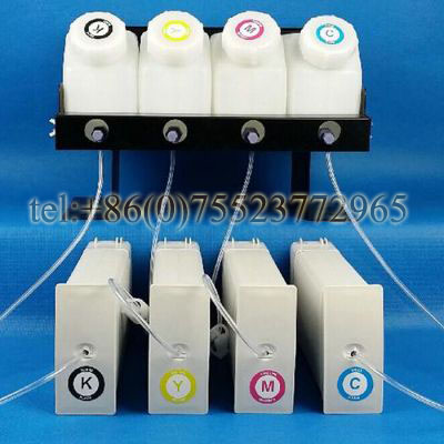 D5800 Bulk Ink System--4 Bottles(1300ml), 4 Cartridges with One-time Chip