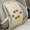 Practical Car Bamboo Chip Style Waist Care Cushion Breathability Backrest Suit For Driving Housing And Office Ergonomic Design