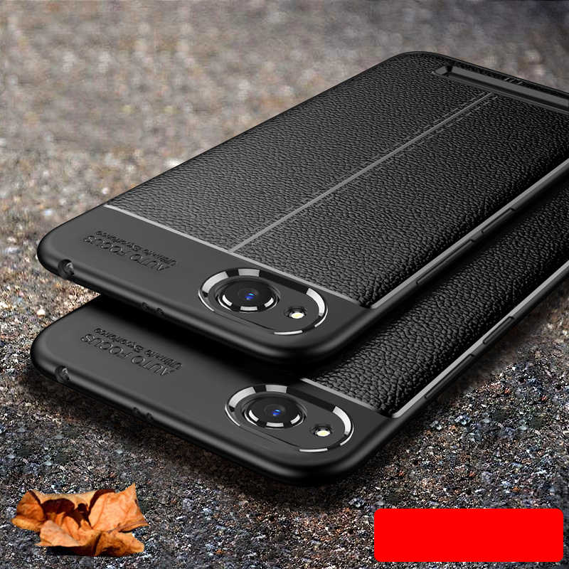 For Xiaomi Redmi 4X 4A 5A Leather Texture Case For Redmi S2 6 Pro Ultra Thin Soft TPU Silicone Gel Bumper Protective Back Cover