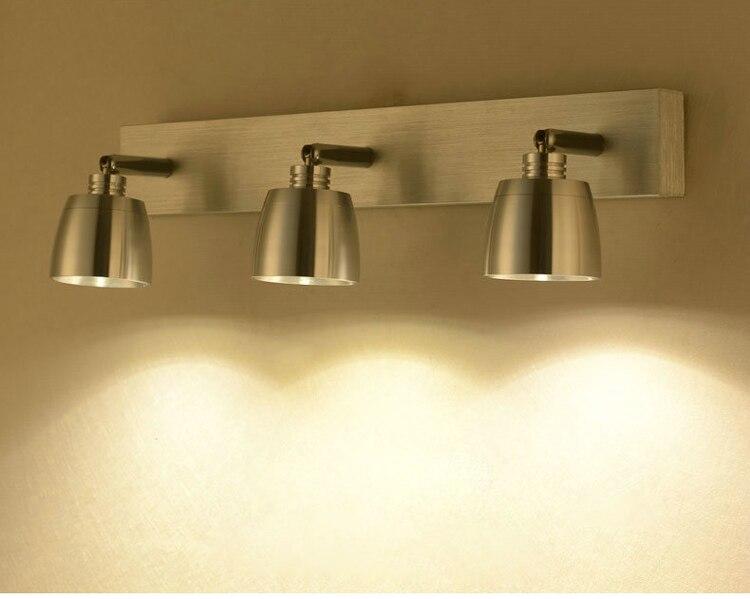 LED wall lamps modern spot lighting luminaire bathroom light led wall lights mirror lamp bedroom wall light 40cm 12w acryl aluminum led wall lamp mirror light for bathroom aisle living room waterproof anti fog mirror lamps 2131