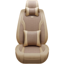Car Seat Cover Four Seasons General Car Seat Cushions Car pad Car Styling For Ford Edge Mondeo Ecosport Focus Fiesta kuga