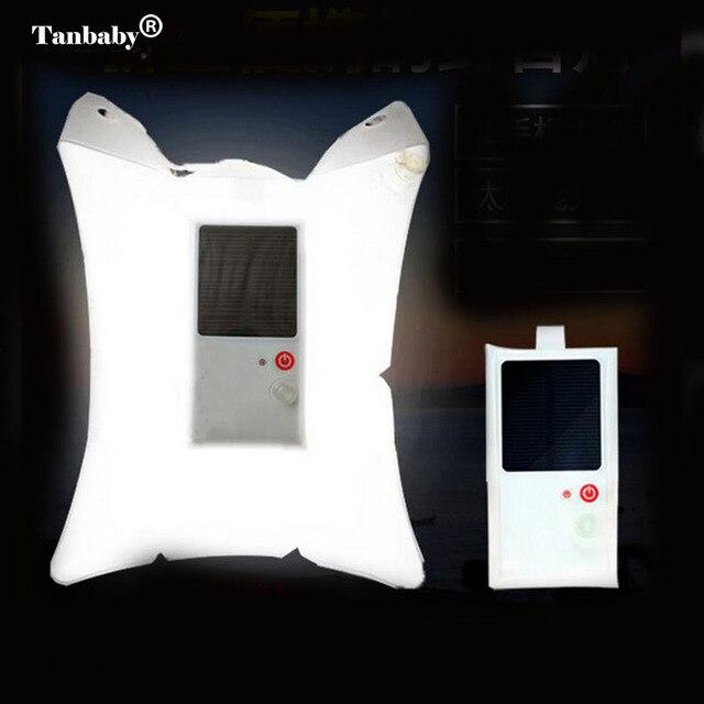 Tanbaby Solaire Puissance Gonflable Lumière Portable Pliable Solaire ...