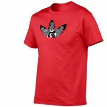 2019 New  just   color T Shirt Mens   cotton T-shirts Summer Skateboard Tee Boy Skate Tshirt Tops(China)