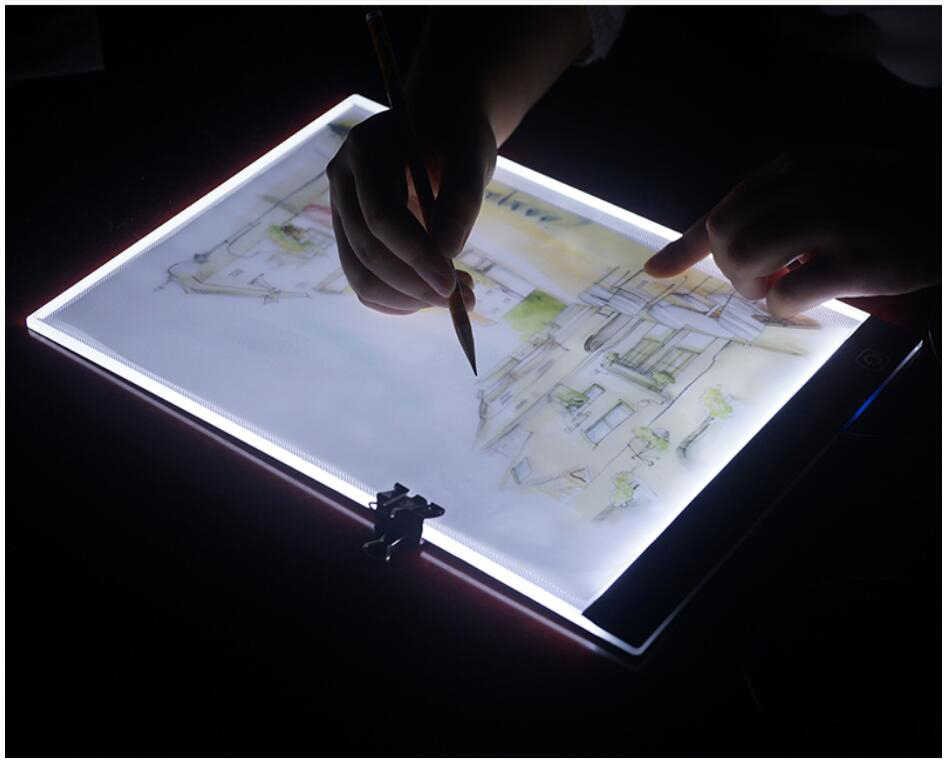 Diamond Painting Lightpad Tablet Ultrathin 3.5mm Pad Apply to EU/UK/AU/US/USB Plug Embroidery la casa de papel serie A4 LED