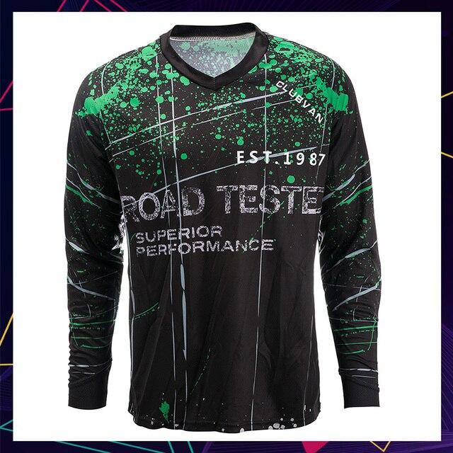clubvan Custom Men Black MTB Motorcycle Jersey Downhill Jersey Mountain  Bike Motocross T Shirt DH Cycling Clothing Ropas  S1 99306b9a5