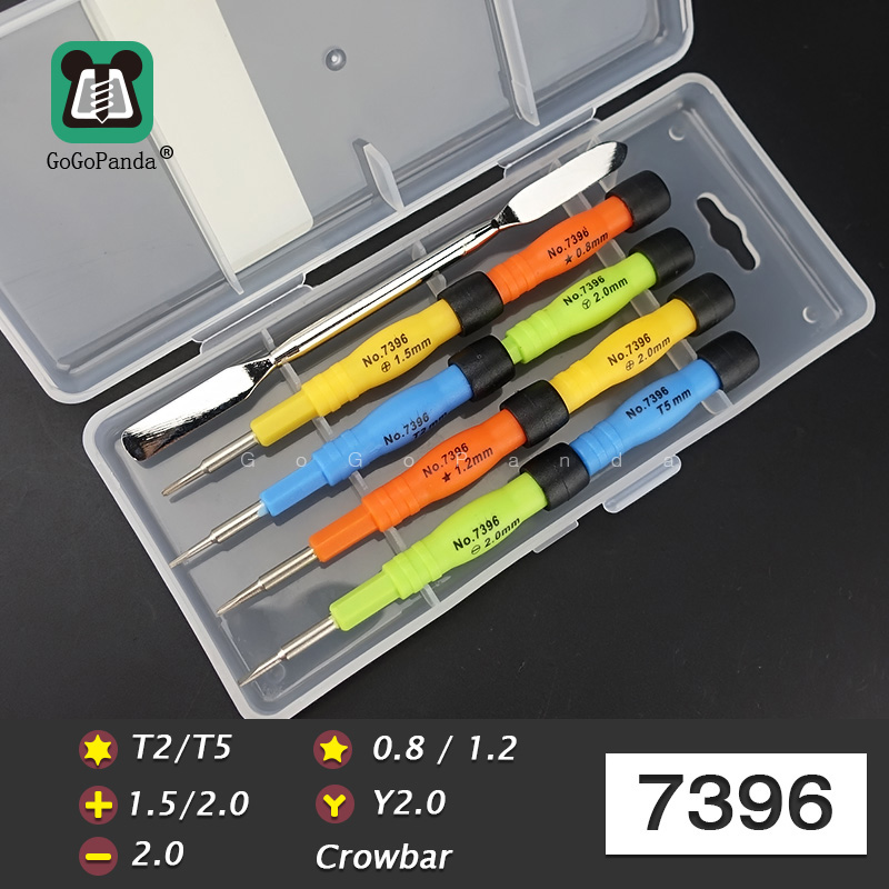 13 IN 1 Magnetic Screwdriver Set Precision Screw Driver Maintenance Tools Special 0 8 star For Phone Clock Watch Repair 7392 in Screwdriver from Tools