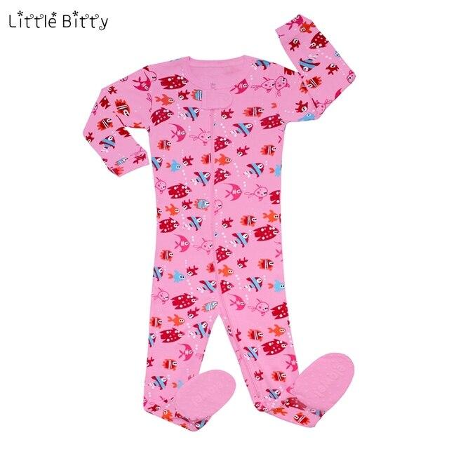 Немного неровный 100% хлопок животных черепаха рыбки КИТ детские пижамы для  девочек детей кигуруми розовый 9888cf7bfffc2