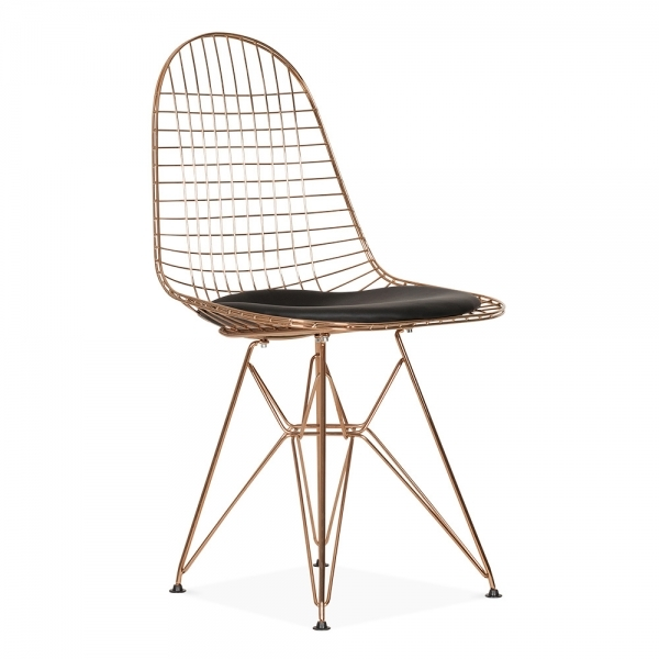 Merveilleux Rose Gold Color Copper Color Wire Chair Modern Design Classic Wire Chair  Cafe Metal Loft Wire