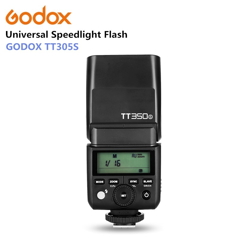 Godox TT350S 2,4 г 1/8000 s ttl GN36 Беспроводная вспышка Speedlite для sony камеры A7 A7R A7S A7 II A7R II A7S II A6300 A6000
