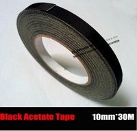 1x 10mm 30 Meters Adhesive High Temperature Insulation Acetate Tape Sticky For Motor Coil Winding LCD
