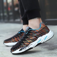 2018 new Fashion Men Shoes Casual Mesh Breathable Light High Quality Male Popular shoes  5
