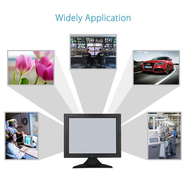 "Eyoyo POS 15"" Touch Screen LCD TouchScreen Monitor For Retail Kiosk Restaurant Bar"