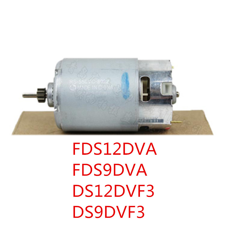 12V 9.6V Motor Genuine Parts 318244 For HITACHI DS12DVF3 FDS12DVA FDS9DVA DS9DVF3 DS12DVFA RS-550VC-8022 Motor