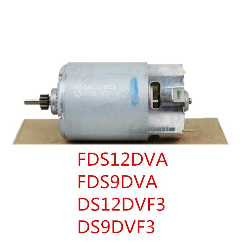 12V 9.6V Motor Genuine Parts 318244 for HITACHI DS12DVF3 FDS12DVA FDS9DVA DS9DVF3 DS12DVFA RS-550VC-8022 Motor