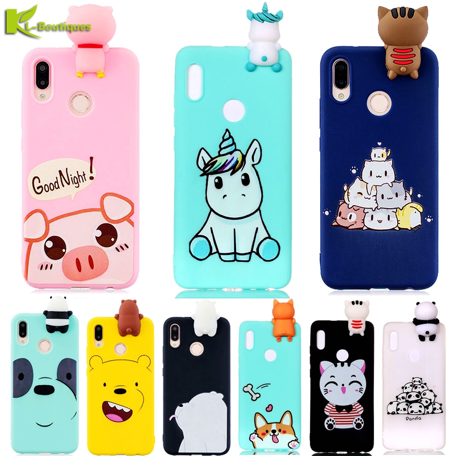Cartoon Phone Cases sFor Coque Huawei P20 Lite Case Cover on for Huawei P20 Pro P20 P20Pro P 20