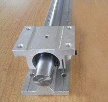 25 мм Линейный Железнодорожный Набор 1xTBR25-1000 мм + 1xTBR25UU Блок Для Частей С ЧПУ Комплект