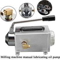 Y 8 Hand Operated Manual Pump Lubrication Punching Pump Oil Machine CNC Machine Oiler