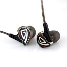 Nueva OSTRY KC06A En la Oreja los Auriculares de 3.5 MM Estéreo de Música Auricular MP3 Cancelación de Ruido Auriculares de botón de Metal de Alta Calidad Con Cable de Alta Fidelidad auriculares