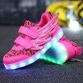 Светящиеся кроссовки для мальчиков и девочек  светящиеся кроссовки с usb-зарядкой  размер 25-37