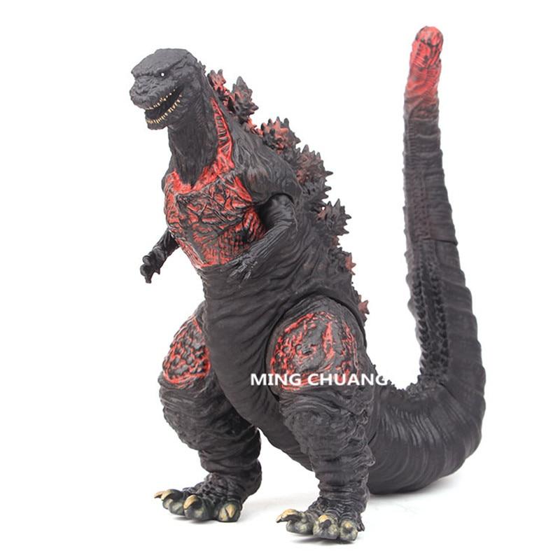 Movie Shin Godzilla 28CM Godzilla Huge Monster MUTO Monstrous Creature Red Tails Gojira PVC Action Figure Collectible Model Toy gojira gojira magma