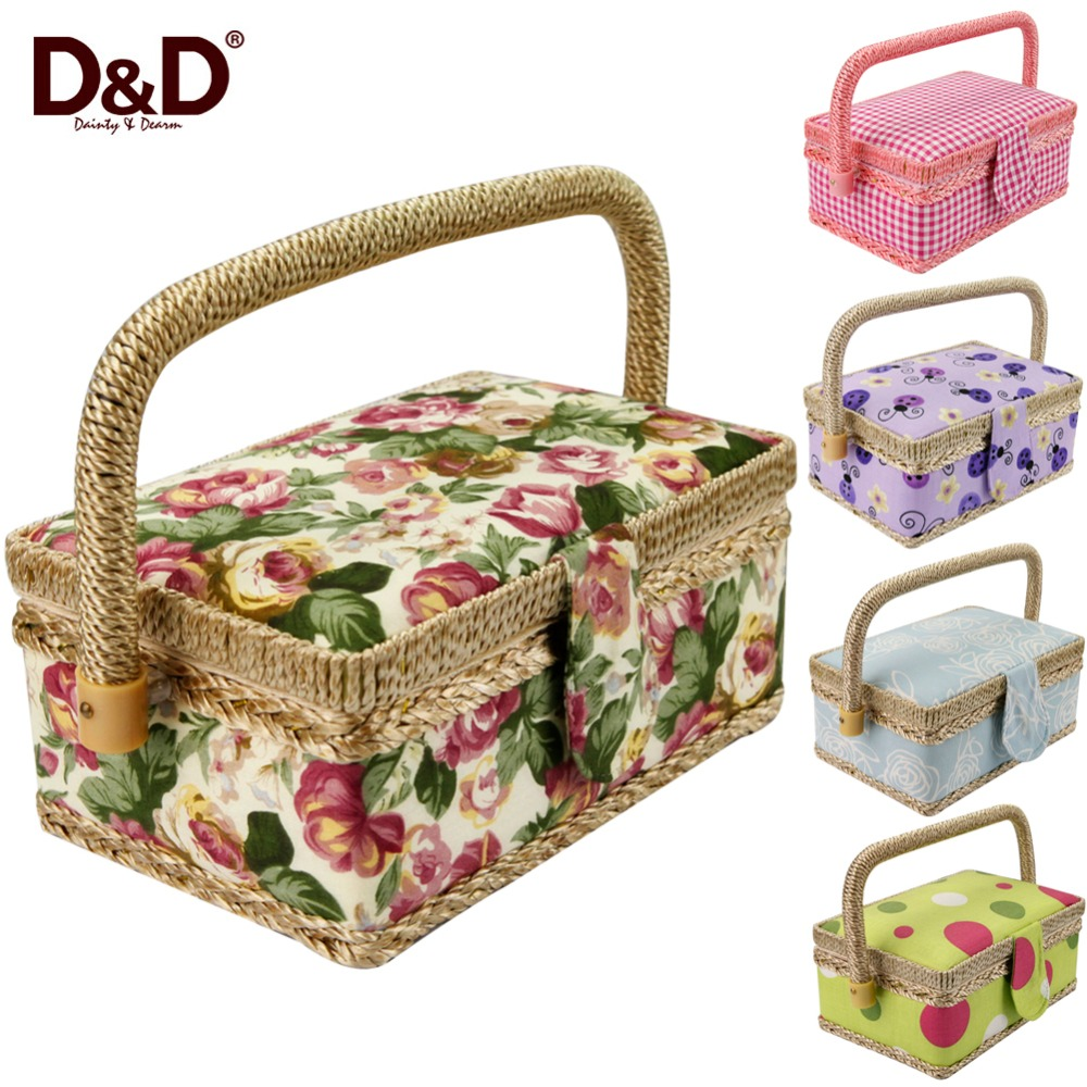 Handmade Fabric Storage Baskets : Get cheap sewing baskets aliexpress alibaba