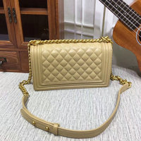 free shipping leather handbag crossbody bags for women le boy bag women luxury designer flap top quality bag with chain 25cm