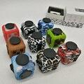 Camuflagem EDC Fidget Cubo Giratório Brinquedo com Caixa Original Anti Stress Desk AntiStress Desabafar Brinquedos