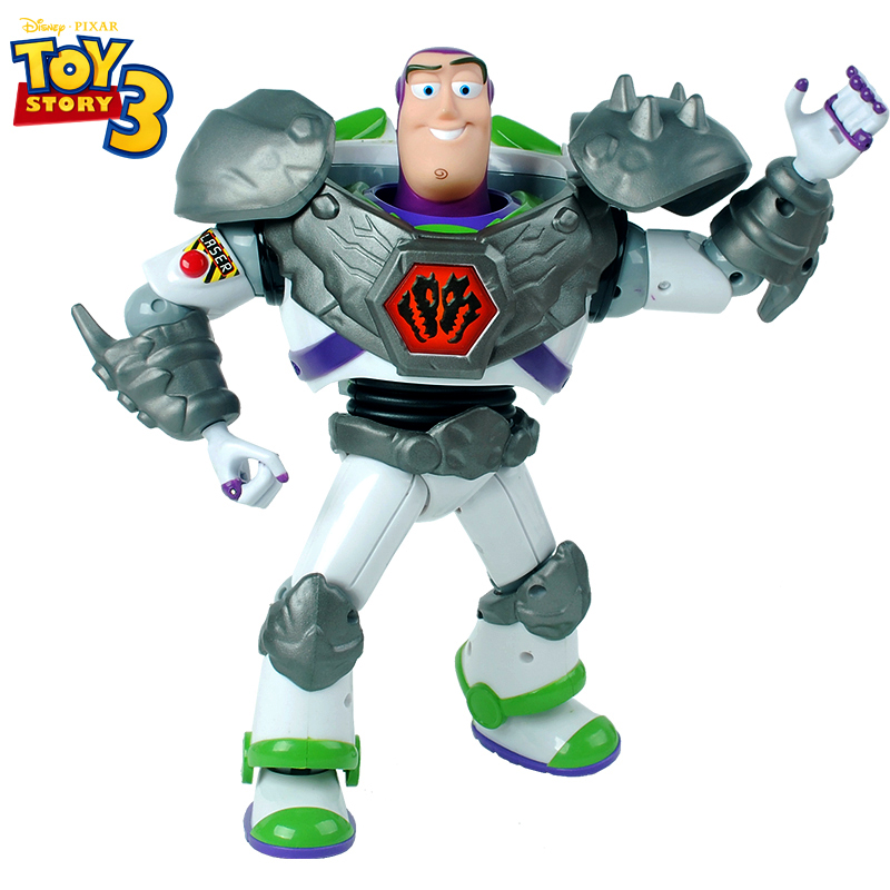 30 cm large Buzz Lightyear Action Toy Dolls Toy Story Sound and light Armed Figures with