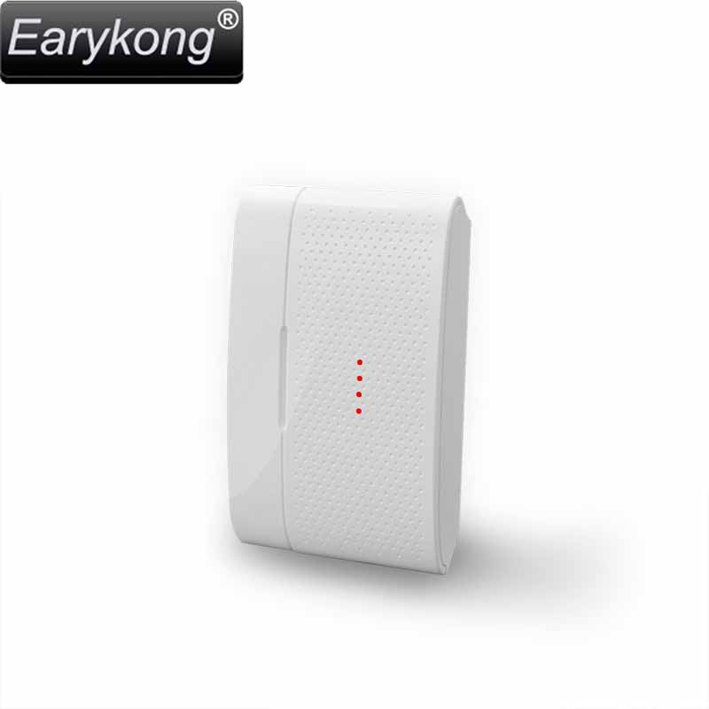 433MHz Wireless door open sensor, For home security wifi GSM alarm system, door open detector alarm, 1527 chips, Security home yobangsecurity wireless door window sensor magnetic contact 433mhz door detector detect door open for home security alarm system
