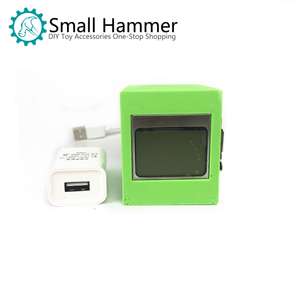 Small Nail Hammer IoT Temperature And Humidity Nodemcu Dht22 5110 Display Kit Maker Open