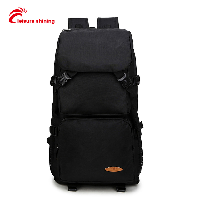 Double Shoulder Bag Man Large Capacity Travelling Backpack Female Traveling Climbing Bag Outdoor Waterproof Leisure Computer Bag