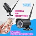 Беспроводная водонепроницаемая открытый сети 720 P мега мини Smartlink wi-fi ip-камера Ночного Видения Подключи и Играй 128 ГБ SD карты Onvif