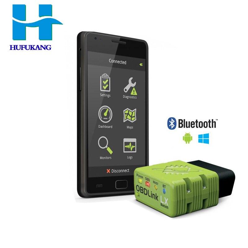 Цена за 100% Оригинальные сканера obdlink LX Bluetooth сканирования работать с Android телефон Windows PC с экспресс-доставка
