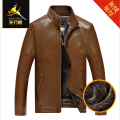 Leather & Suede New high quality man's coat winter clothing, Jackets men, Jackets men's skin,  Wool warm against the cold