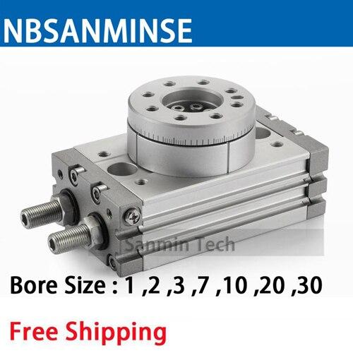 Msqb 1 2 3 7 10 20 поворотный воздушный цилиндр пневматические
