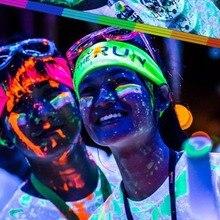 1 шт 13 цветов Сделай Сам Топ эко нетоксичный запах бесплатно водонепроницаемый граффити краска светящийся акриловый светится в темноте пигментные вечерние стены
