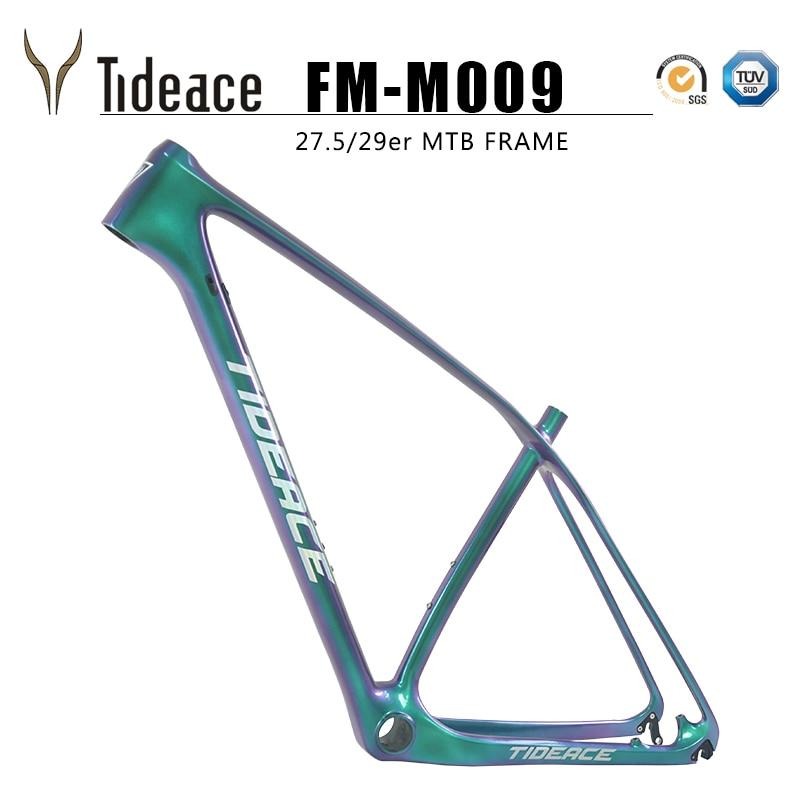 Tideace UD 29er quadro de carbono Camaleão Chinês 650B MTB quadro de carbono 27.5 de carbono quadro de bicicleta de montanha de fibra de carbono disco quadro 29