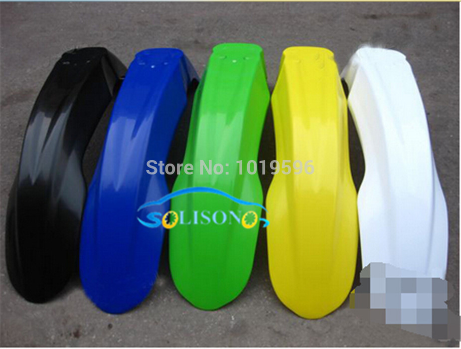 STARPAD For Cqr X2 motorcycle front fender off road motorcycle zongshen gy stone Blue Green 1 pieces lot Wholesale in Wheels from Automobiles Motorcycles