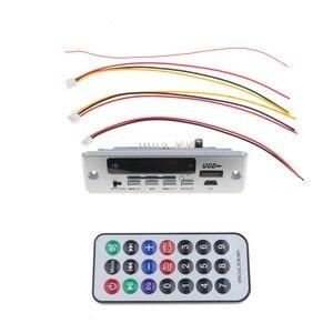 Image 2 - Kebidu DC 5V 12V Per Auto Bluetooth 5.0 MP3 WMA FM AUX Scheda di Decodifica Audio Modulo FM TF Radio automobile Auto MP3 Altoparlante Accessori