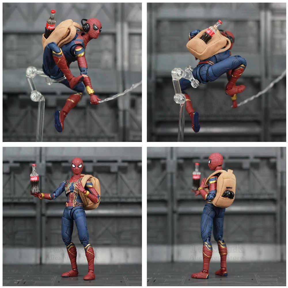 Marvel, Мстители, Железный Человек-паук, 6 дюймов, фильм, фигурка, том Холланд, легенды, Человек-паук, вдали от дома, конечная игра, игрушки, кукла Ко, СВЧ