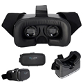 "Google Cardboard VR 3D Immersive Glasses Box HeadMount Helmet Virtual Reality Binocular Video Goggles for 3.5-6.0"" Smartphone"