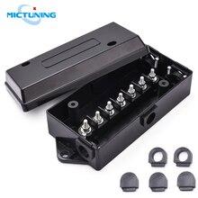 Micтюнинг 7-стандартная распределительная коробка для проводки, 7-полосная/полюсная проводка прицепа/Кабельная коробка для буксировки для пе...